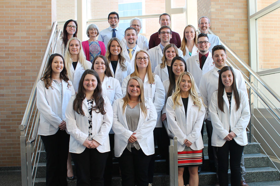Inaugural rural health PharmD named option cohort.