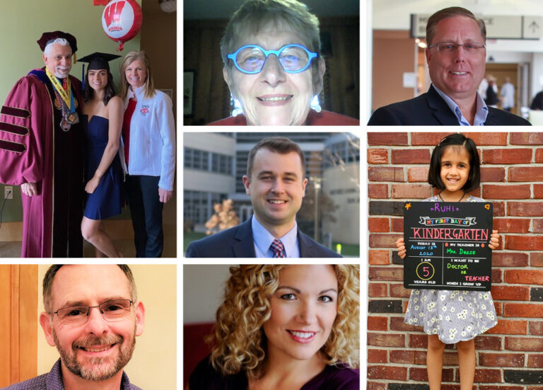 Collage of alumni in the Fall 2020 Class Notes
