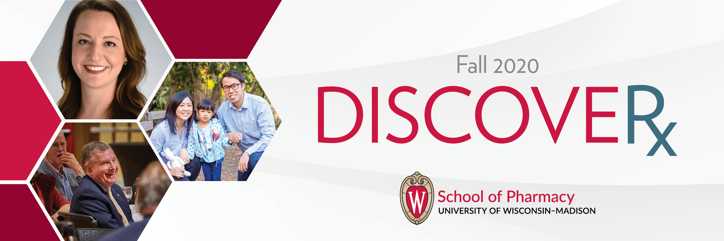 Masthead for the Fall 2020 issue of DiscoveRx
