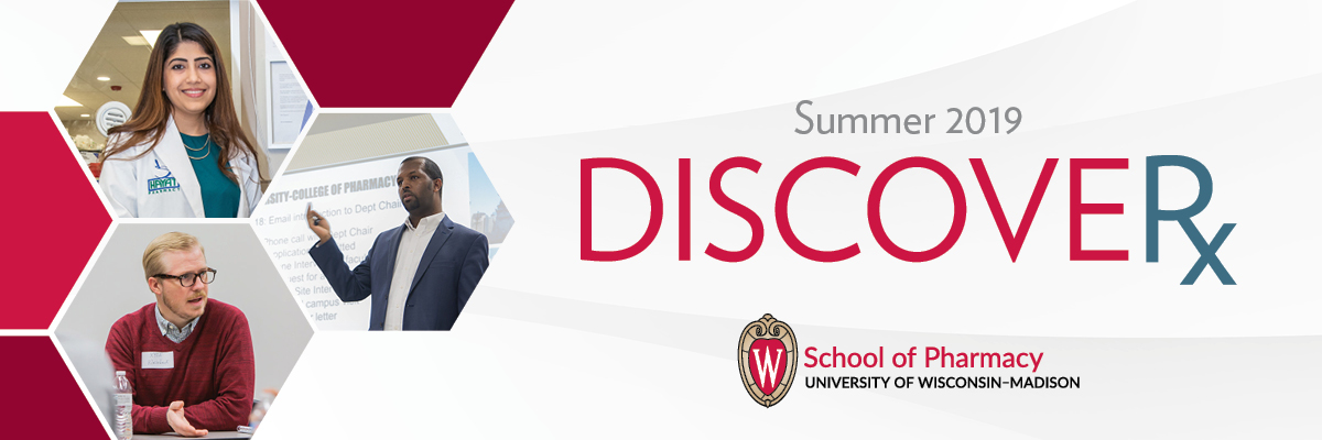 Masthead image for the summer 2019 issue of DiscoveRx.